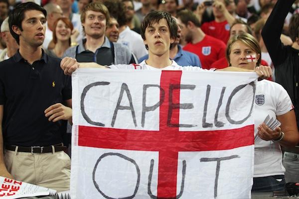 when will the FA learn and drop Capello?